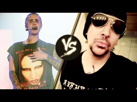 Justin Bieber PISSES OFF Marilyn Manson Over T Shirt