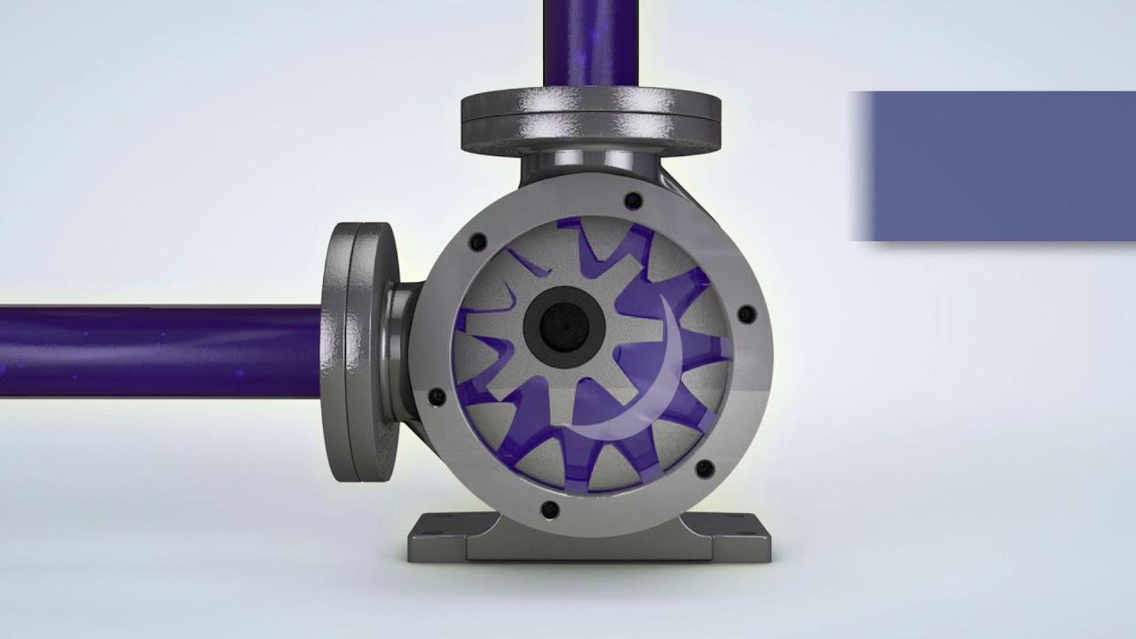 Envirogear 174 G Series How An Internal Gear Pump Works Youtube
