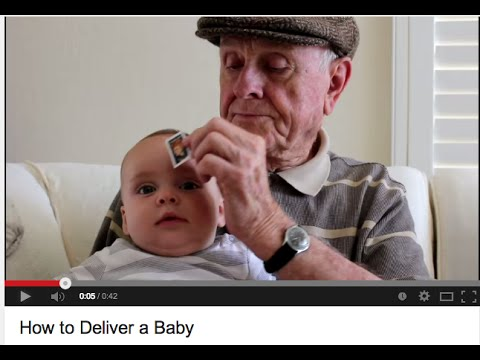 how to deliver a baby