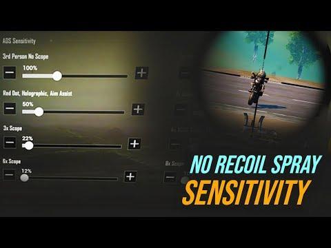 Scope Sensitivity Pubg Mobile