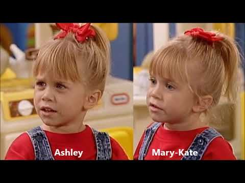 Mary-Kate and Ashley season 4 scene switches