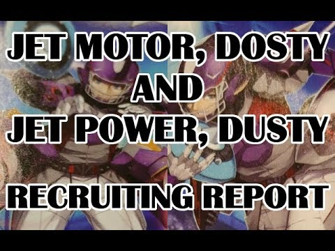 RECRUITING REPORT - Jet Motor, Dosty & Jet Power, Dusty - GBT-13 Spike Brothers - Cardfight Vanguard