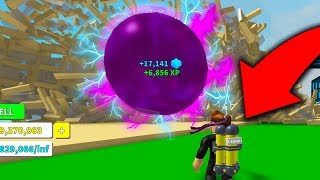 DESTROYING THE ENTIRE MAP WITH ONE BLACK HOLE!! *INSANE* - Roblox Destruction Simulator