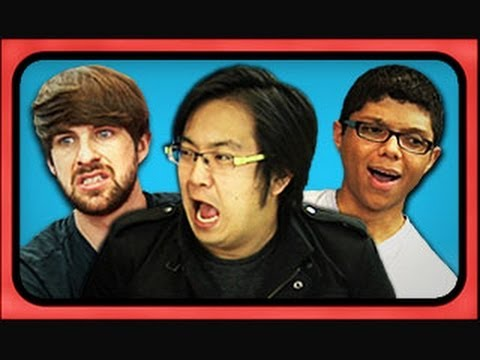 YouTubers React to Viral Videos (Chocolate Rain, Justin Bieber, Magibon)