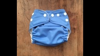 Sew with Me | How to Make A Pocket Cloth Diaper(Step by step Pocket diaper instructions. The pattern i use in the video is one i made myself. But here is a website with a bunch of free cloth diaper patterns., 2015-06-21T02:22:33.000Z)