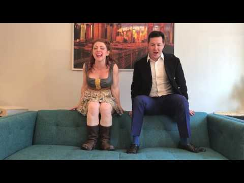 """Episode 8: FROZEN """"Love is an Open Door"""" The Casting Couch with Chris and Jenna"""
