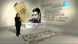 Filosofía aquí y ahora Especiales Literatura y política   Jean Paul Sartre Capítulo 1 Temporada 6