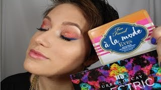 Electrifying Eyes w/ TOO FACED A La Mode & URBAN DECAY Electric Palettes Thumbnail