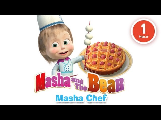 Masha and The Bear - Cooking and eating in the kitchen with Masha!
