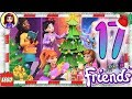 Day 17 Build your Christmas Tree Decorations - Lego Friends Advent Calendar 2018