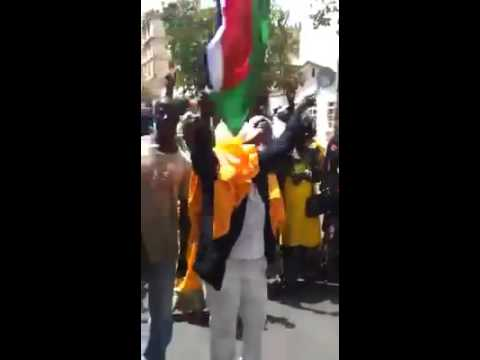 More videos from Gambia, demanding dictator Jammeh to step down