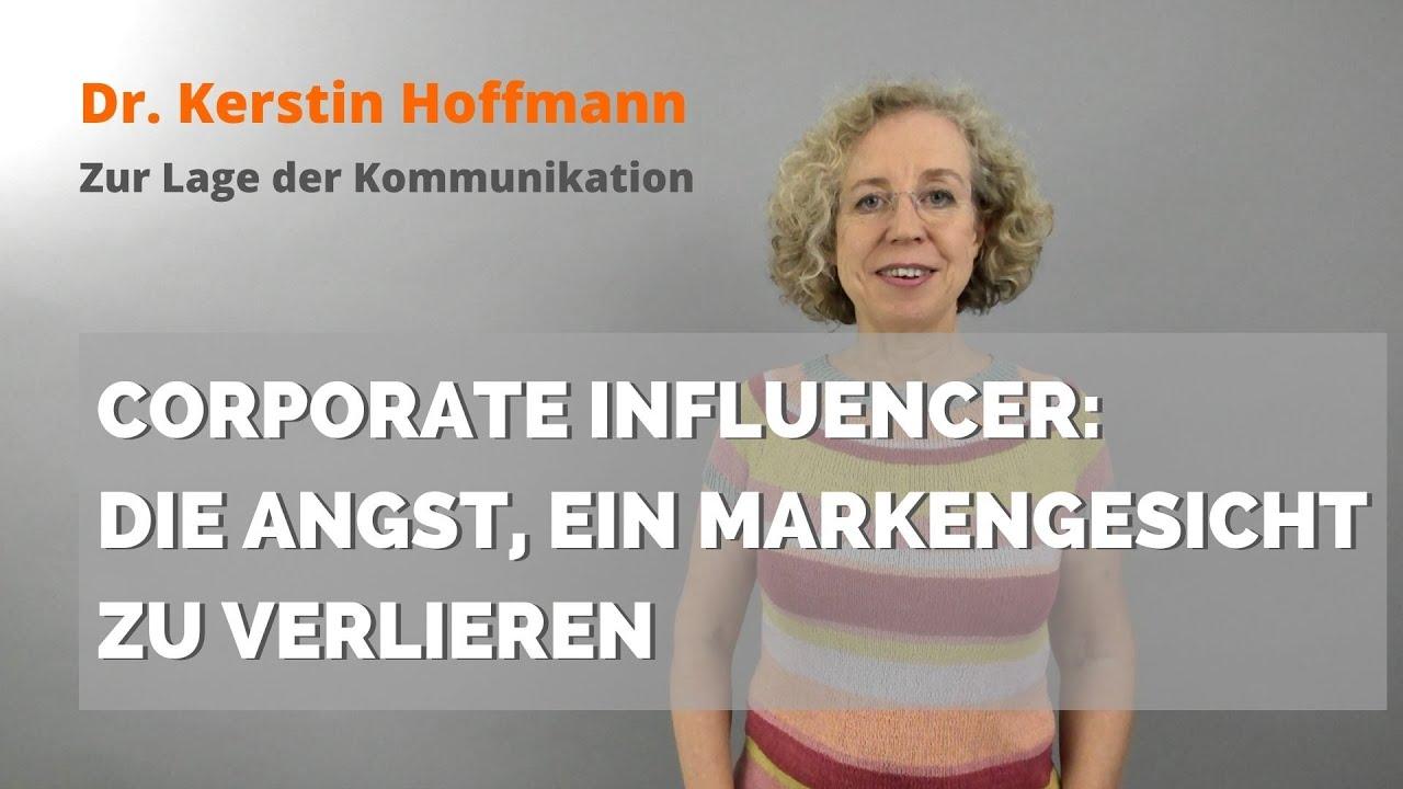Corporate Influencer: Die Angst, ein Markengesicht zu verlieren
