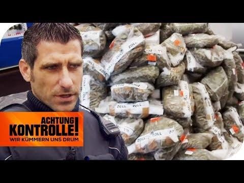 500kg Drogenfund! Polizei verschärft Drogenkontrollen an der Grenze   Achtung Kontrolle   kabel eins