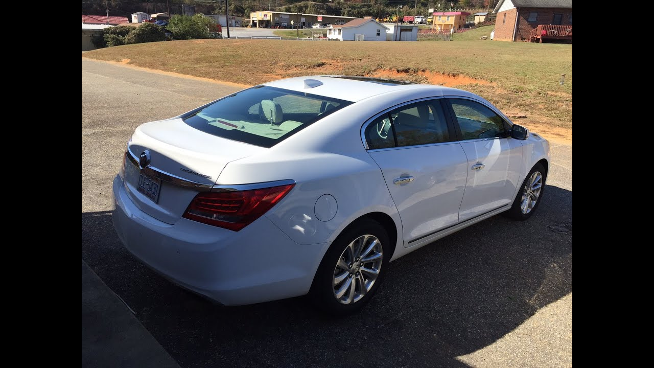 2015 Buick LaCrosse - First Look - YouTube