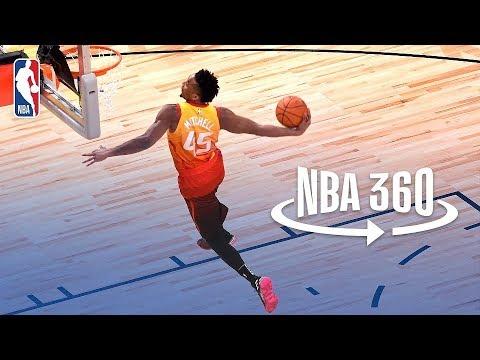 NBA 360 | Donovan Mitchell Wins 2018 Verizon Slam Dunk