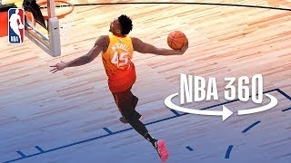 NBA 360 | Donovan Mitchell Wins 2018 Verizon Slam Dunk