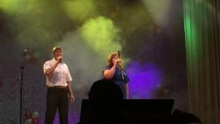 Концерт в честь дня ГИБДД, Морозовск
