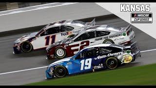 Super Start Batteries 400 Presented from Kansas Speedway   NASCAR Cup Series Full Race Replay