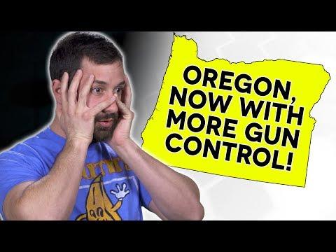 Oregon SB501 | New Gun Control Bills | The Legal Brief