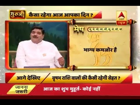 Daily Horoscope with Pawan Sinha: Aries' luck is a bit weak today