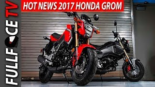 NEW 2017 Honda Grom Review and Specs