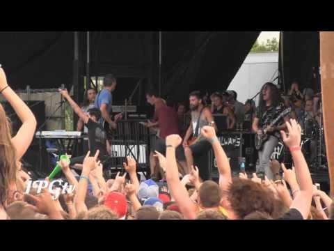 Chiodos - Fullset LIVE [HD] @ 2013 Vans Warped Tour Detroit, MI