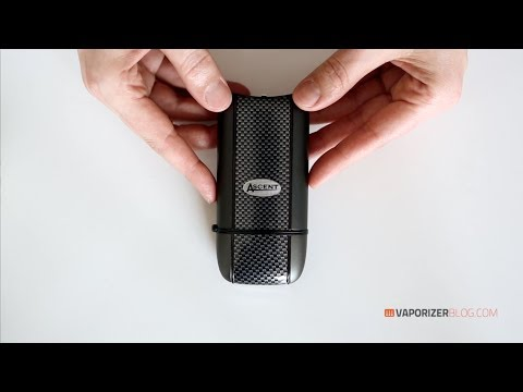 Ascent by DaVinci vaporizer unboxing review by vaporizer blog // VaporizerBlog.com