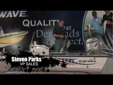 Pimp My Wave 2011 Video 2, Stripping down the boat and making repairs at the Blue Wave Boats Factory