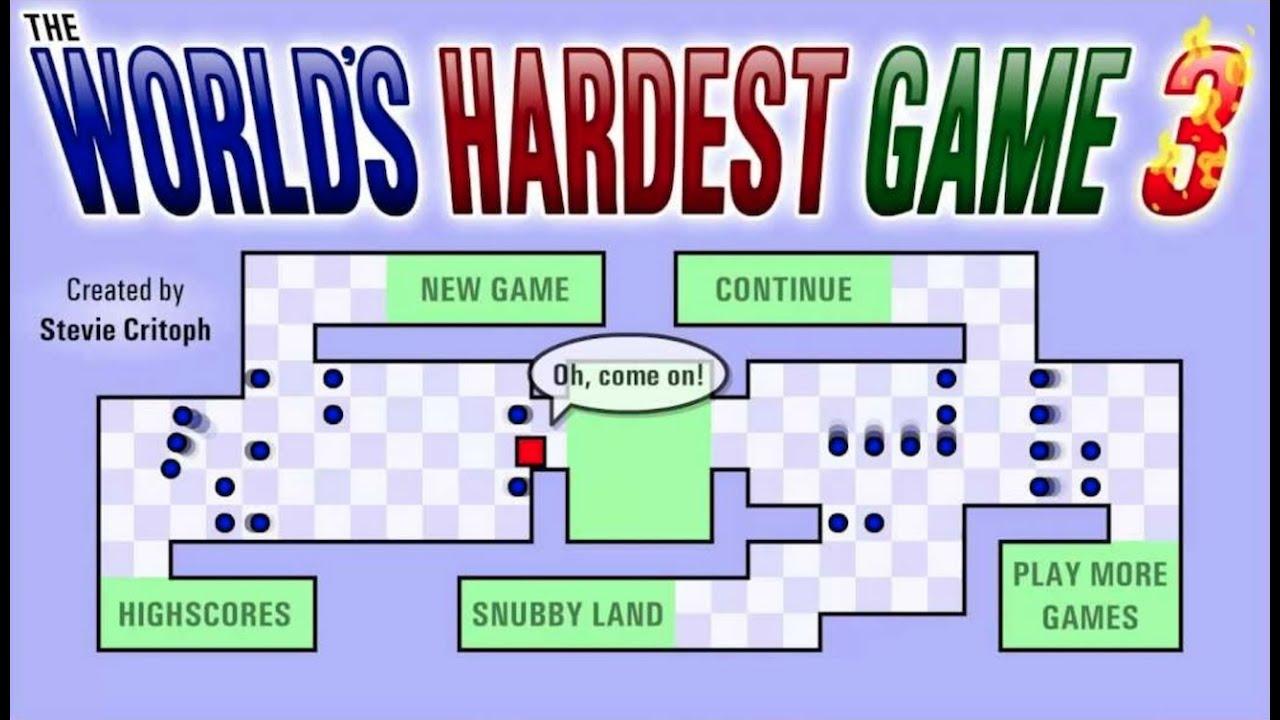 Scratch worlds hardest game