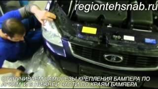 видео Окрашенные детали ВАЗ