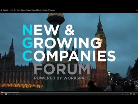 The New & Growing Companies Forum 2015 at the Houses of Parliament