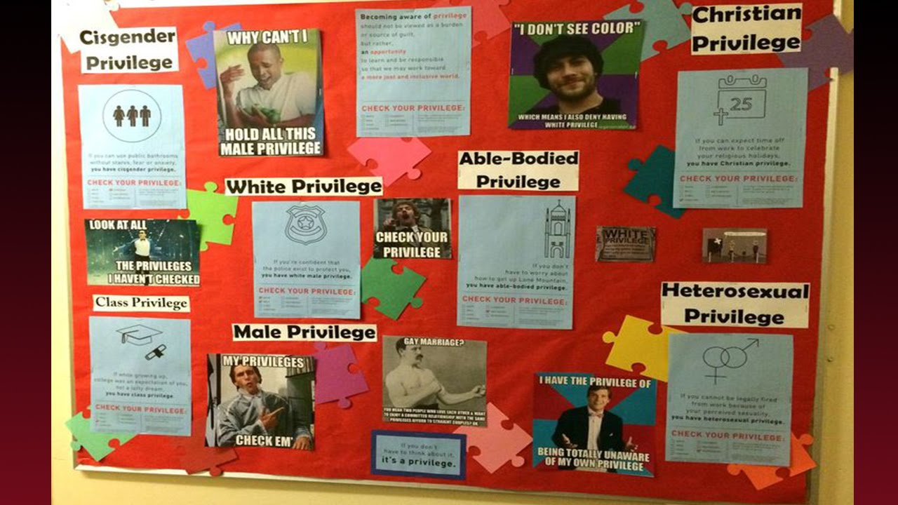 College Dorm Bulletin Board Causes Conservative Freak Out Youtube
