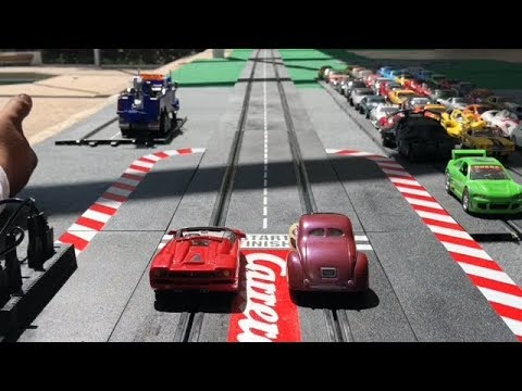 TOY SLOT CAR DRAG RACING