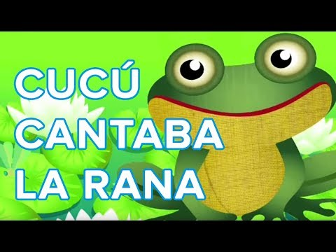 Worksheet. Cu cu cantaba la rana cancin infantil  YouTube