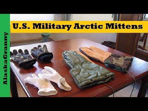 U.S. Military Arctic Mittens
