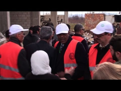 Arab observer mission in Syrian city of Zabadani
