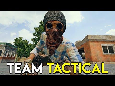 TEAM TACTICAL - PlayerUnknown's Battlegrounds (PUBG Custom Games)