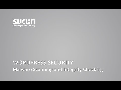 Sucuri Security - WordPress Security - Malware Scanning and Integrity Checking