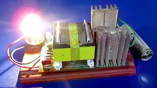 Science experiment Free energy generator 220V inventions - easy diy project 2018