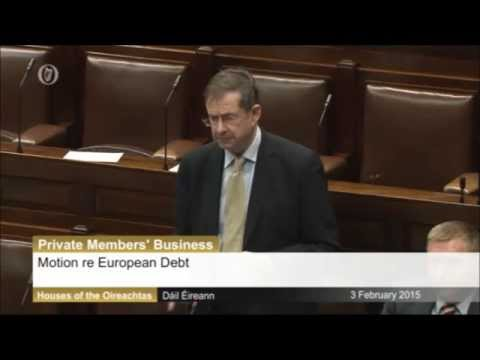 Éamon Ó Cuív speaks on Dáil debate on EU debt conference