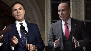 Finance Minister Bill Morneau says he'll donate any increase in the value of shares in his family business since he was elected to charity. NDP ethics critic Nathan Cullen says donating money from profits is a sign of guilt. (The Canadian Press)