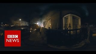 Fire Rescue (360 Video) - BBC News thumbnail