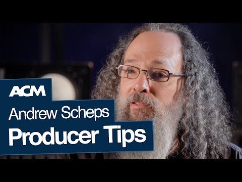 Andrew Scheps' Top 3 Tips for Producers