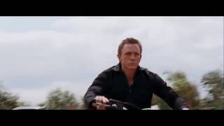 QUANTUM OF SOLACE BIKE JUMP