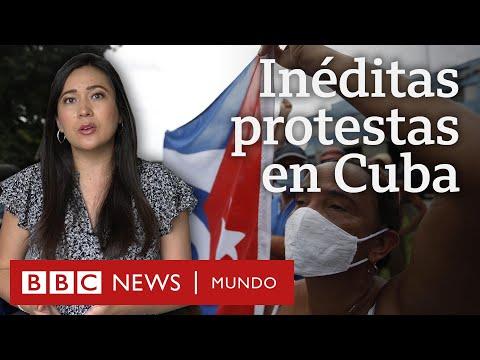 3 claves para entender las protestas en Cuba, las más grandes en décadas
