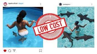 Imitando fotos de INSTAGRAM Con SORTEO | La Pelo