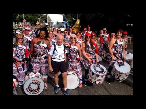 Batala Mersey BBC Radio Sheffield - Rotherham Carnival