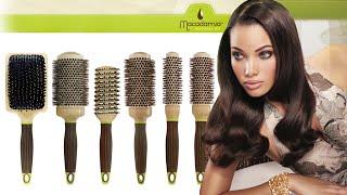 Брашинг для волос. Как выбрать нужный объем брашинга для разных укладок.
