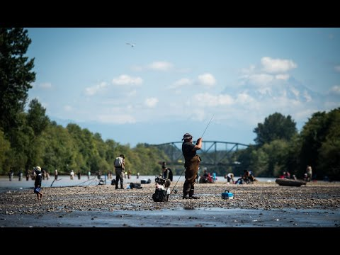 As Fishing Season Opens, Fishermen Flock To The Puyallup River