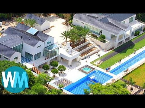 Thumbnail: Top 10 Pimped Out Celebrity Mansions